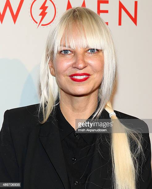 Singer/songwriter Sia attends The LA Gay Lesbian Center's 2014 An Evening With Women at The Beverly Hilton Hotel on May 10 2014 in Beverly Hills...