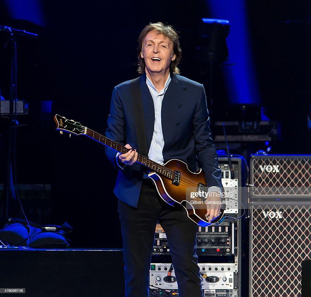 Paul McCartney In Concert - Philadelphia, PA