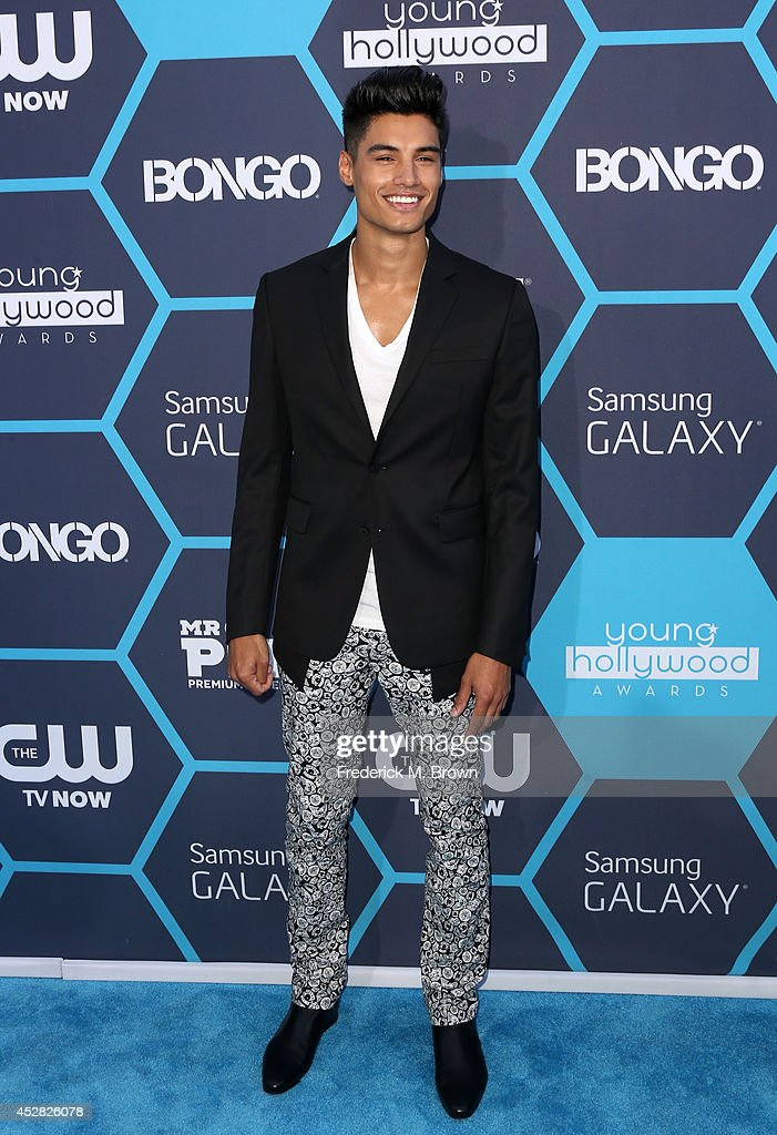 Singer/songwriter Siva Kanaswaran attends the 2014 Young Hollywood Awards brought to you by Samsung Galaxy at The Wiltern on July 27, 2014 in Los Angeles, California.