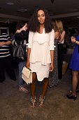 Singer/songwriter Solange Knowles attends The AD Oasis at James Royal Palm Hotel on December 4 2014 in Miami Beach Florida