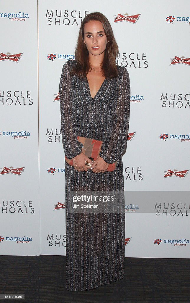 Singer/songwriter Sophie Auster attends the 'Muscle Shoals' New York Premiere at Landmark's Sunshine Cinema on September 19, 2013 in New York City.
