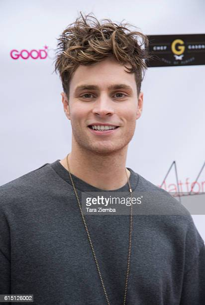 Singer/songwriter Spencer Sutherland attends Breaking The Chains Foundation and Glitter Magazines first annual fall reception on October 16 2016 in...