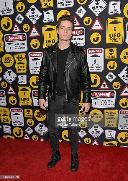 Singer/songwriter Spencer Sutherland attends Just Jared's Annual Halloween Party at Tenants of the Trees on October 30 2016 in Los Angeles California