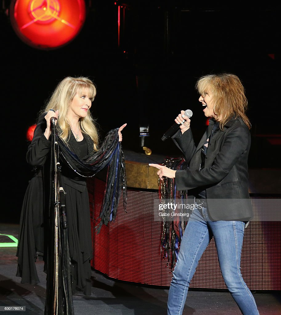 Stevie Nicks Performs At The Grand Opening Of Park Theater In Las Vegas
