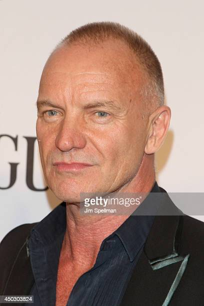 Singer/songwriter Sting attends the American Theatre Wing's 68th Annual Tony Awards at Radio City Music Hall on June 8 2014 in New York City