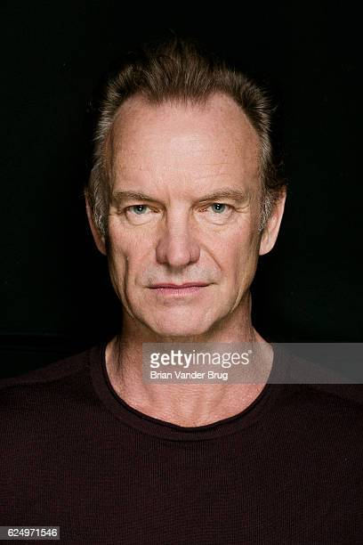 Singersongwriter Sting is photographed for Los Angeles Times on October 24 2016 in Los Angeles California PUBLISHED IMAGE PUBLISHED IMAGE CREDIT MUST...