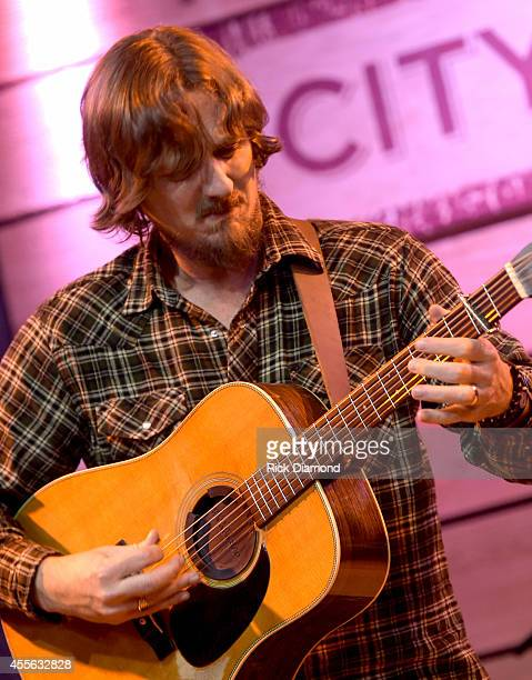 Singer/Songwriter Sturgill Simpson performs at City Winery during the 15th Annual Americana Music Festival Conference Day 1 on September 17 2014 in...
