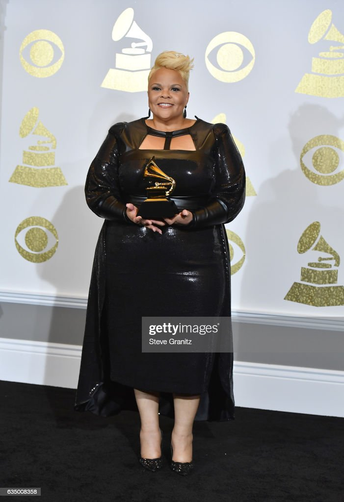 59th GRAMMY Awards -  Press Room