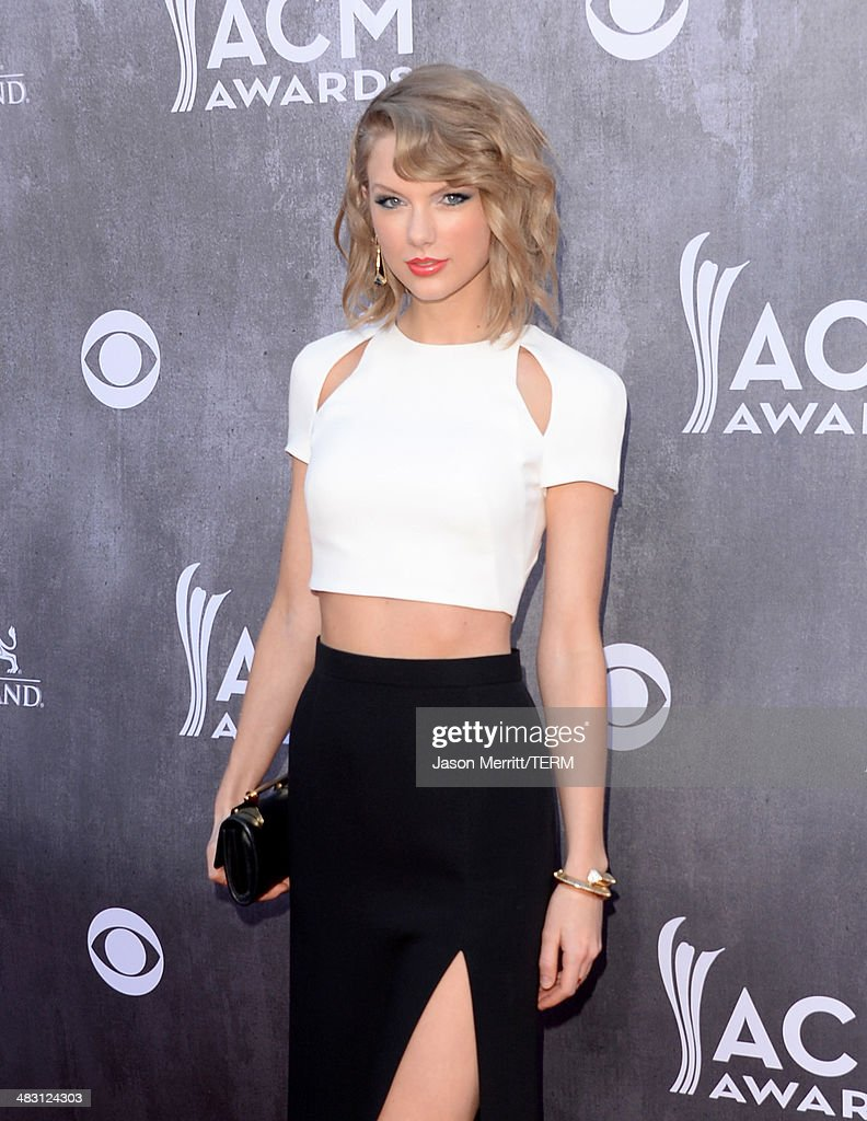 Singer/songwriter Taylor Swift attends the 49th Annual Academy Of Country Music Awards at the MGM Grand Garden Arena on April 6, 2014 in Las Vegas, Nevada.