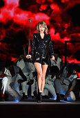 Singer/songwriter Taylor Swift performs onstage during The 1989 World Tour Live at MetLife Stadium on July 10 2015 in East Rutherford New Jersey