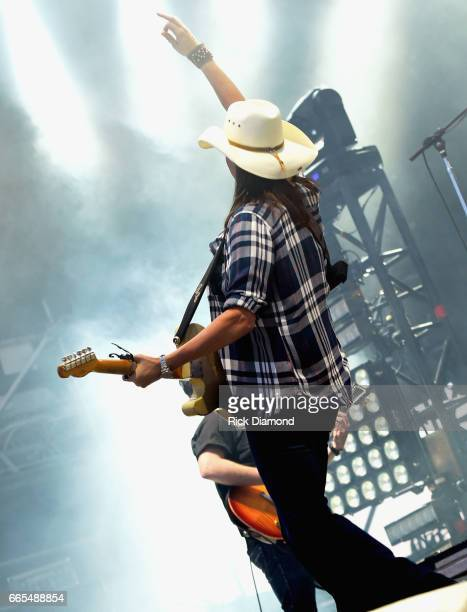 Singer/Songwriter Terri Clark performs day 1 of the Country Thunder Music Festival Arizona on April 6 2017 in Florence Arizona