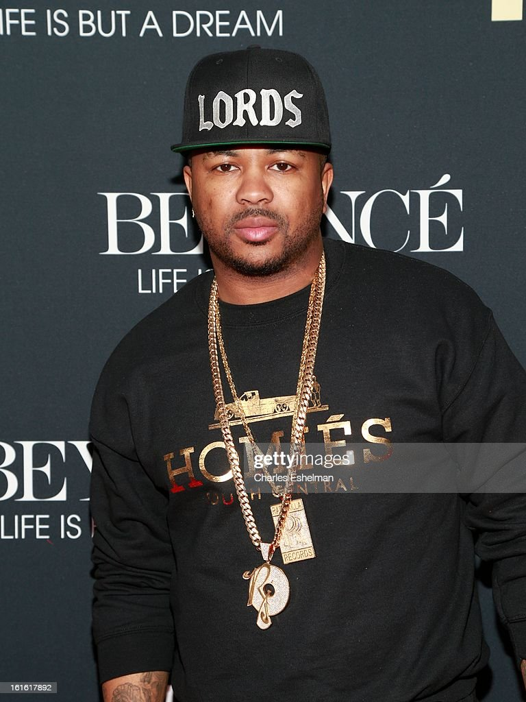 Singer/songwriter The-Dream arrives at 'Beyonce: Life Is But A Dream' New York Premiere at Ziegfeld Theater on February 12, 2013 in New York City.