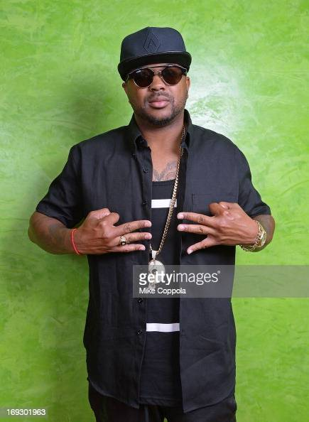 Singersongwriter TheDream poses for a portrait before attending his 'The Art of IV Play'Exclusive Listening Party on May 22 2013 in New York City
