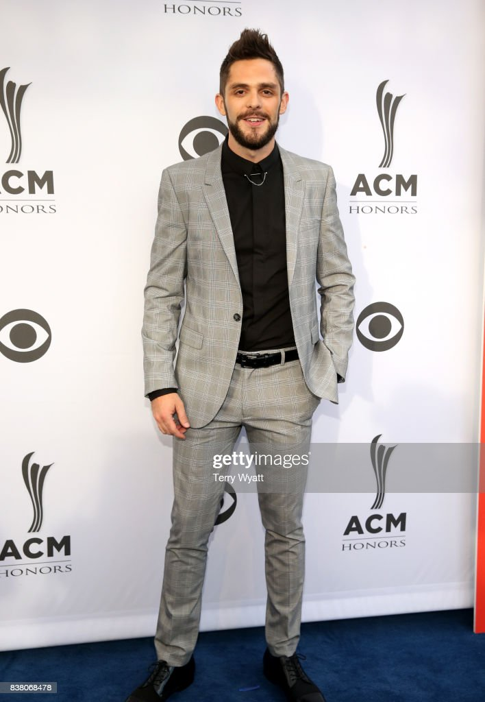 Singer-songwriter Thomas Rhett attends the 11th Annual ACM Honors at the Ryman Auditorium on August 23, 2017 in Nashville, Tennessee.