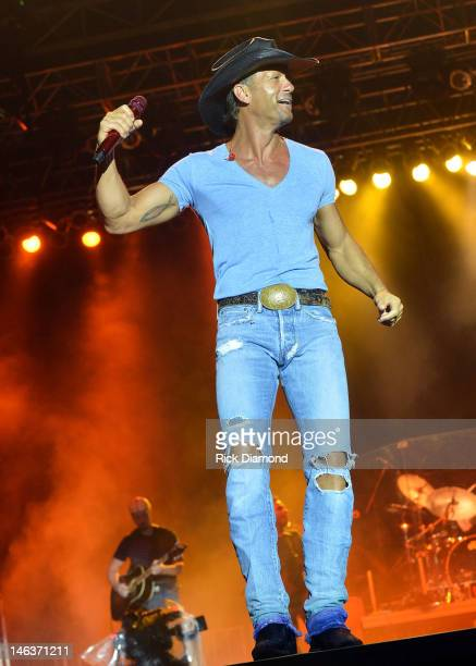 Singer/Songwriter Tim McGraw performs at the 2012 BamaJam Music and Arts Festival Day 1 at BamaJam Farms in Enterprise Alabama on June 14 2012