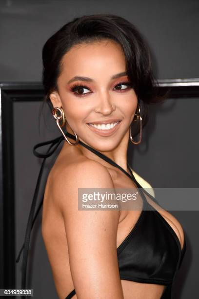 Singersongwriter Tinashe attends The 59th GRAMMY Awards at STAPLES Center on February 12 2017 in Los Angeles California