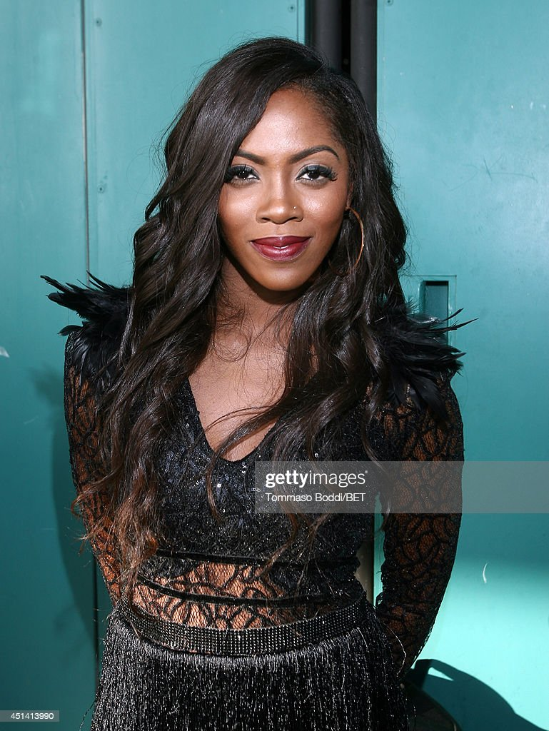 Singersongwriter Tiwa Savage attends Music Around the Globe during the 2014 BET Experience At LA LIVE on June 28 2014 in Los Angeles California