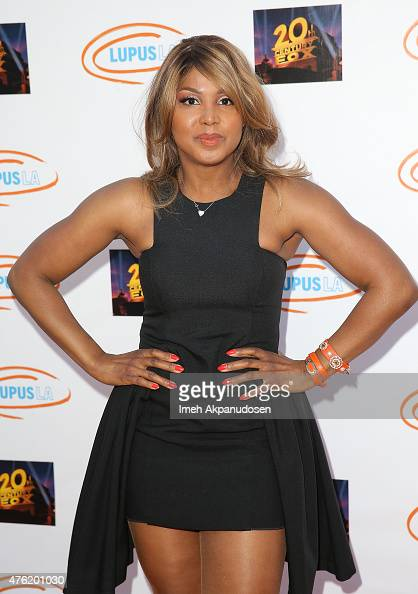 Singer/songwriter Toni Braxton attends Lupus LA's Orange Ball A Night Of Superheroes at Fox Studio Lot on June 6 2015 in Century City California