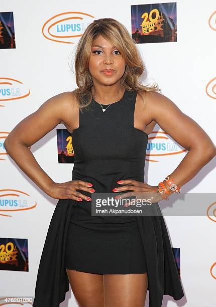 Singer/songwriter Toni Braxton attends Lupus LA's Orange Ball A Night Of Superheroes at Fox Studio Lot on June 6 2015 in Century City California