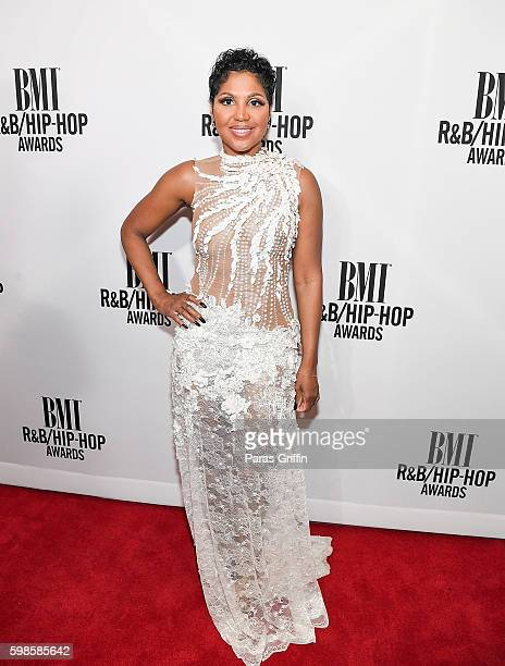 Singer/Songwriter Toni Braxton attends the 2016 BMI RB/HipHop Awards at Woodruff Arts Center on September 1 2016 in Atlanta Georgia