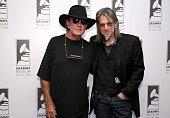Singer/songwriter Tony Joe White and Vice President of the GRAMMY Foundation Scott Goldman attned The Drop Tony Joe White at The GRAMMY Museum on...