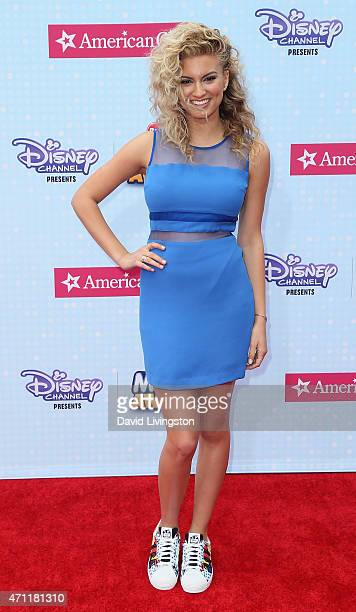Singer/songwriter Tori Kelly attends the 2015 Radio Disney Music Awards at Nokia Theatre LA Live on April 25 2015 in Los Angeles California
