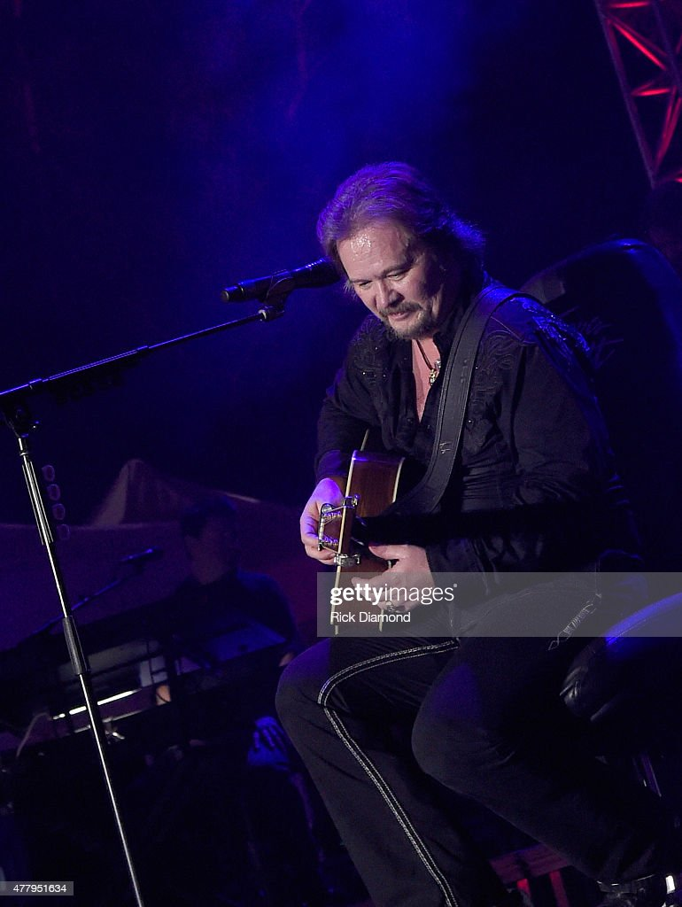 Singer/Songwriter Travis Tritt performs during The 4th Annual Pepsi's Rock The South Festival Day 2 at Heritage Park in Cullman Alabama