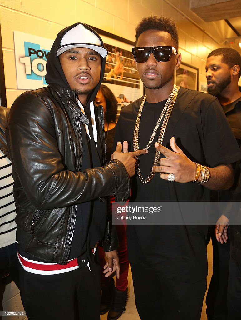 Singer-songwriter <a gi-track='captionPersonalityLinkClicked' href=/galleries/search?phrase=Trey+Songz&family=editorial&specificpeople=674835 ng-click='$event.stopPropagation()'>Trey Songz</a> (L) and rapper <a gi-track='captionPersonalityLinkClicked' href=/galleries/search?phrase=Fabolous&family=editorial&specificpeople=215255 ng-click='$event.stopPropagation()'>Fabolous</a> attend Power 105.1's Powerhouse 2013, presented by Play GIG-IT, at Barclays Center on November 2, 2013 in New York City.