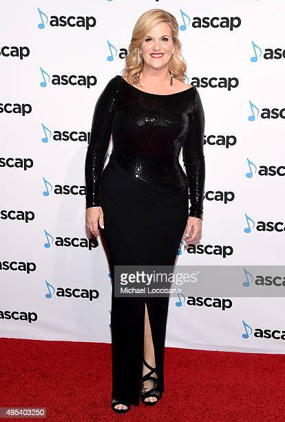Singersongwriter Trisha Yearwood attends the 53rd annual ASCAP Country Music awards at the Omni Hotel on November 2 2015 in Nashville Tennessee