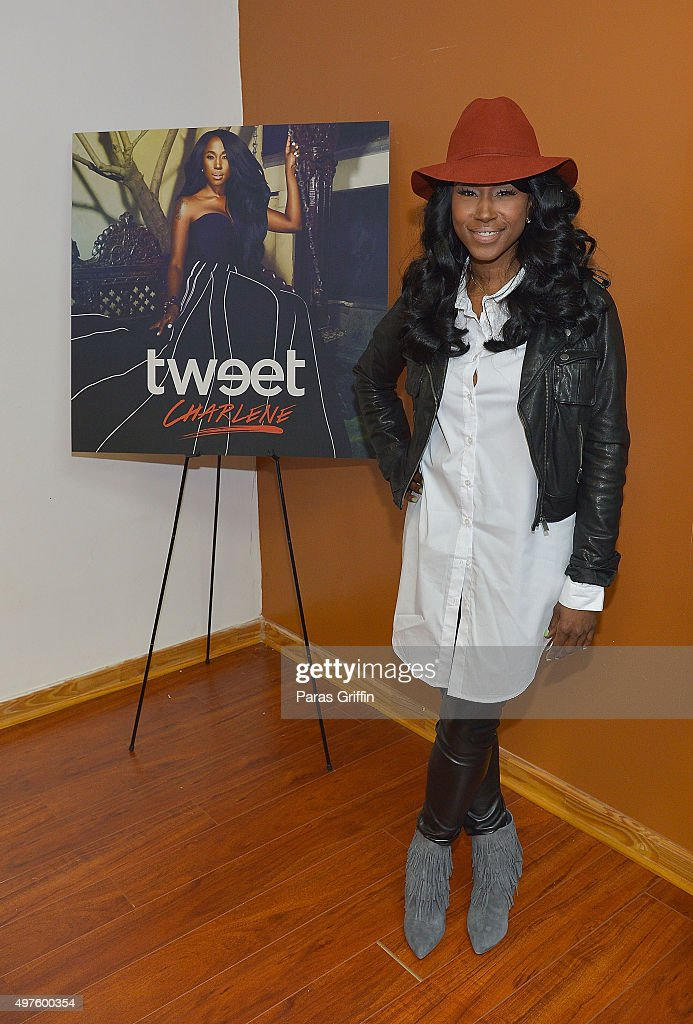 Singer/songwriter Tweet attends her listening party at Artist Factory on November 17 2015 in Atlanta Georgia