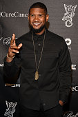 Singersongwriter Usher attends Angel Ball 2015 hosted by Gabrielle's Angel Foundation at Cipriani Wall Street on October 19 2015 in New York City