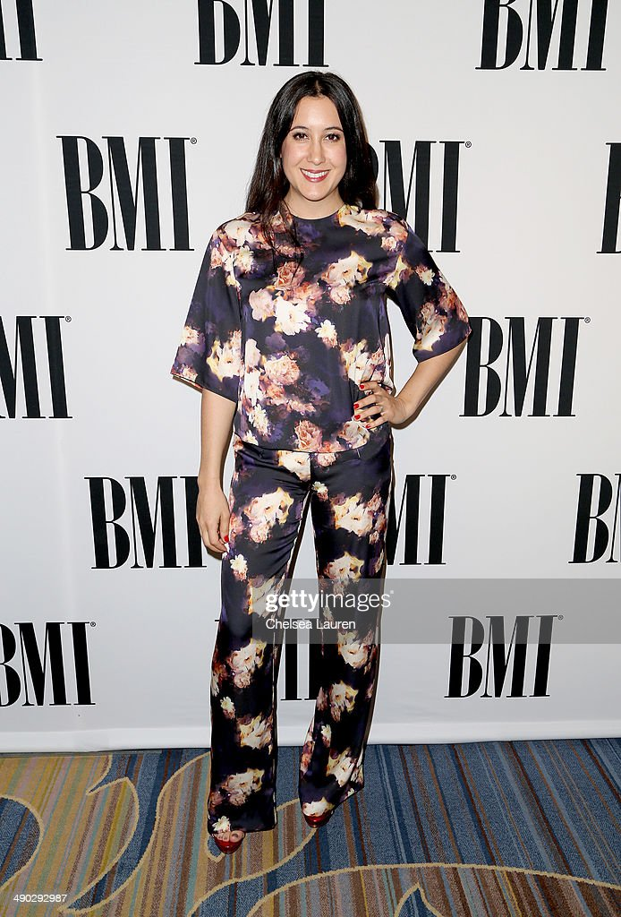 Singer-songwriter <a gi-track='captionPersonalityLinkClicked' href=/galleries/search?phrase=Vanessa+Carlton&family=editorial&specificpeople=209072 ng-click='$event.stopPropagation()'>Vanessa Carlton</a> attends the 2014 BMI Pop Awards at the Beverly Wilshire Four Seasons Hotel on May 13, 2014 in Beverly Hills, California.