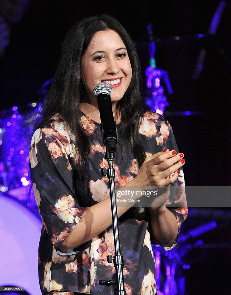 Singer-songwriter <a gi-track='captionPersonalityLinkClicked' href=/galleries/search?phrase=Vanessa+Carlton&family=editorial&specificpeople=209072 ng-click='$event.stopPropagation()'>Vanessa Carlton</a> performs onstage at the 62nd annual BMI Pop Awards at the Regent Beverly Wilshire Hotel on May 13, 2014 in Beverly Hills, California.