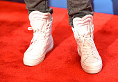 Singersongwriter VaShawn Mitchell shoe detail attends BET Celebration Of Gospel 2016 at Orpheum Theatre on January 9 2016 in Los Angeles California