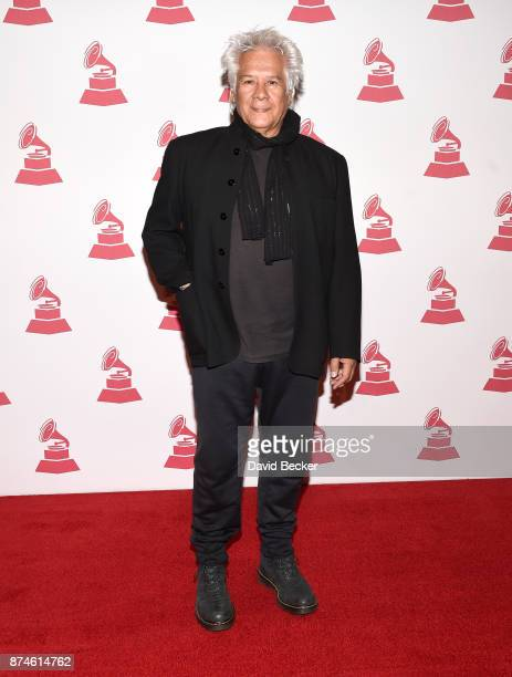 Singer/songwriter Victor Heredia attends The Latin Recording Academy's 2017 Special Merit Awards ceremony at the Four Seasons Hotel Las Vegas on...