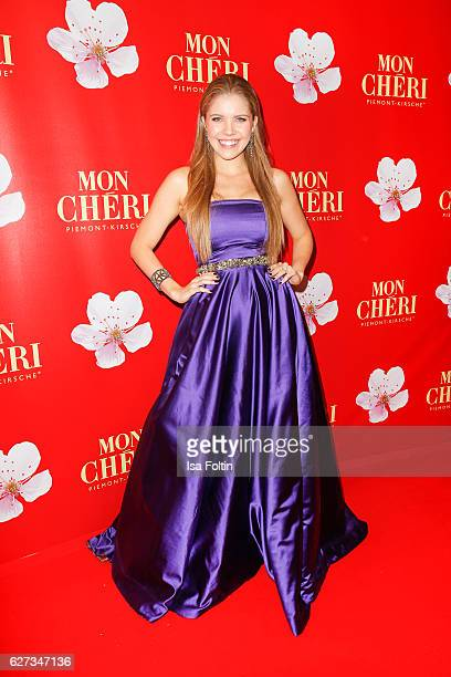 Singersongwriter Victoria Swarovski attends the Mon Cheri Barbara Tag at Postpalast on December 2 2016 in Munich Germany