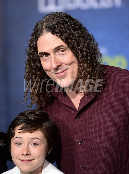 Singer songwriter Weird Al Yankovic...