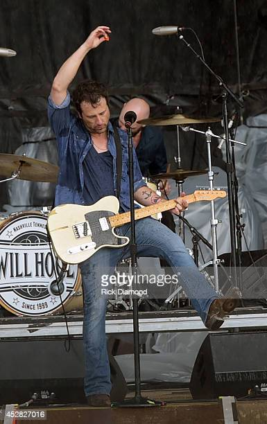 Singer/Songwriter Will Hoge performs at Country Thunder USA Day 4 on July 27 2014 in Twin Lakes Wisconsin