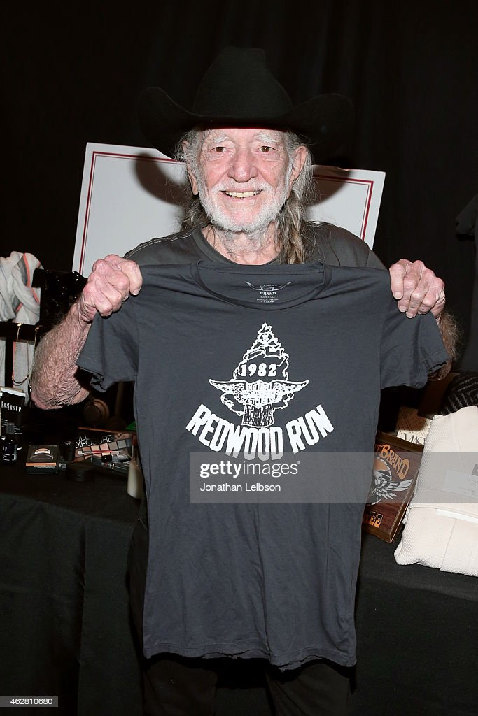 Singer-songwriter Willie Nelson attends the MusiCares Double Platinum Talent Gift Lounge with Altec Lansing, RTA Denim, JB Britches and Infinite Love at MusiCares Person of the Year during The 57th Annual GRAMMY Awards at the Los Angeles Convention Center on February 5, 2015 in Los Angeles, California.
