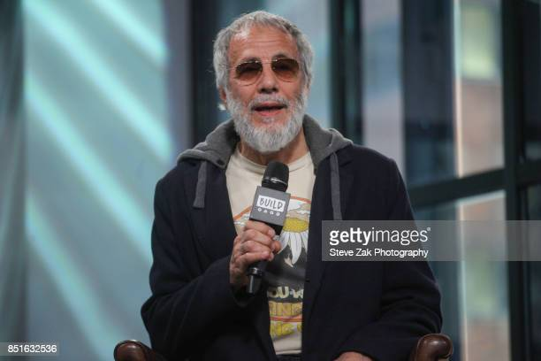 Singer/songwriter Yusuf / Cat Stevens attends Build Series to discuss his new album 'The Laughing Apple' at Build Studio on September 22 2017 in New...