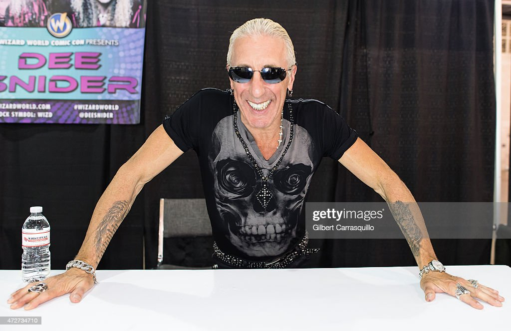 Singer-songwriter/actor Dee Snider attends day 2 of Wizard World Comic Con at Pennsylvania Convention Center on May 8, 2015 in Philadelphia, Pennsylvania.