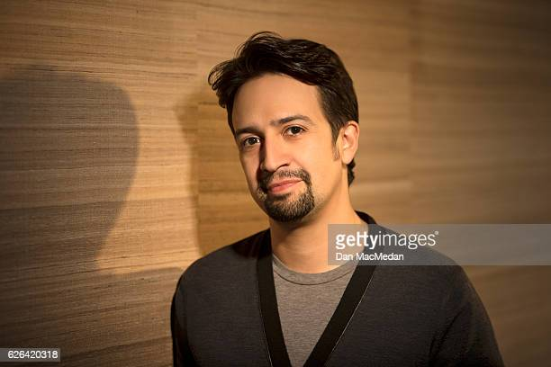 Singer/songwriter/actor LinManuel Miranda is photographed for USA Today on November 13 2016 in Santa Monica California