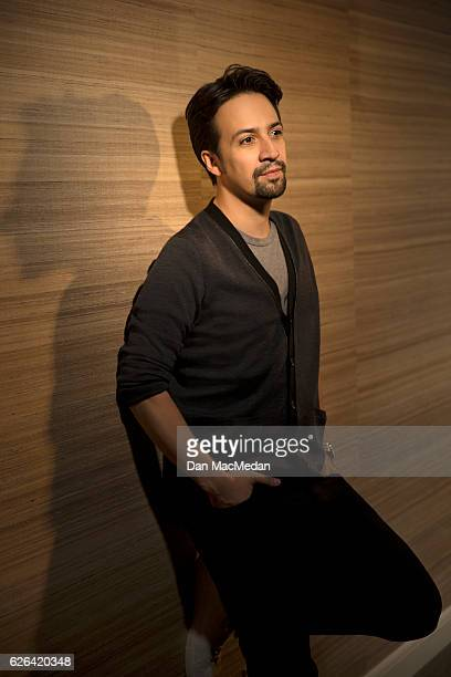 Singer/songwriter/actor LinManuel Miranda is photographed for USA Today on November 13 2016 in Santa Monica California PUBLISHED IMAGE