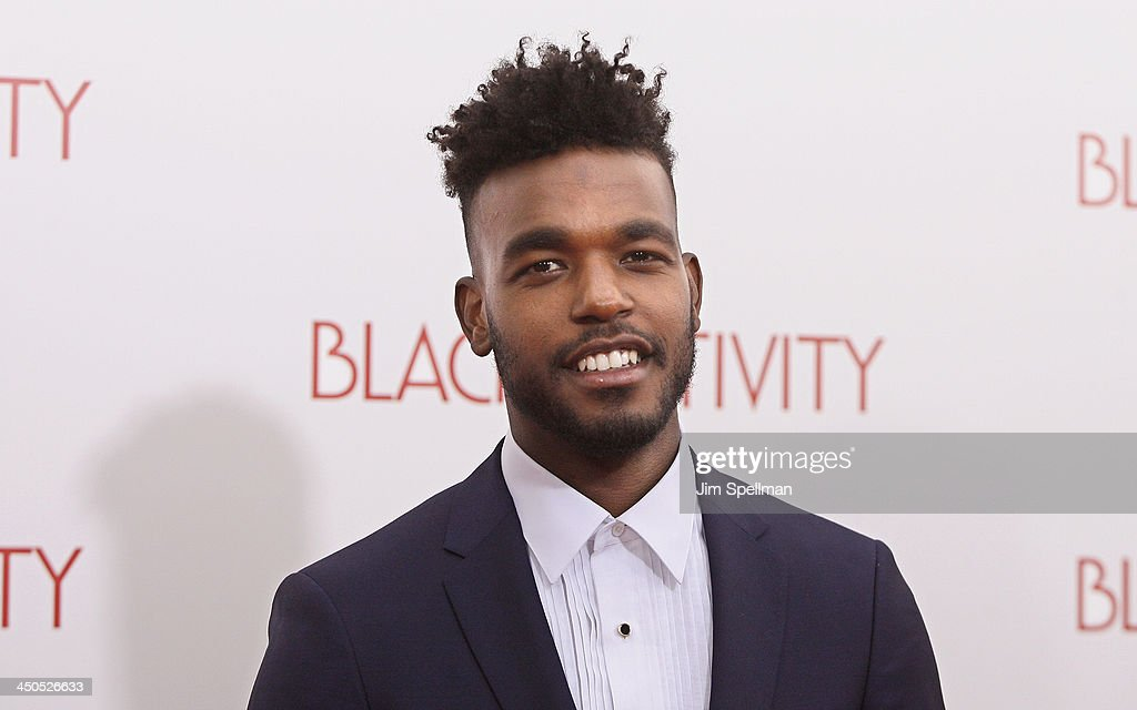 Singer/songwriter/actor Luke James attends the 'Black Nativity' premiere at The Apollo Theater on November 18, 2013 in New York City.
