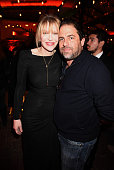 Singer/songwriter/actress Courtney Love and Filmmaker Brett Ratner attend HBO's 'Kurt Cobain Montage Of Heck' Los Angeles Premiere After Party at the...