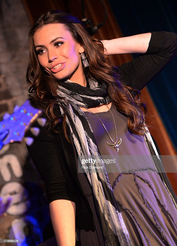 Singer/Songwriter/Actress Sophie TweedSimmons performs for the first time in Nashville during the taping of a new reality series at The Basement on...