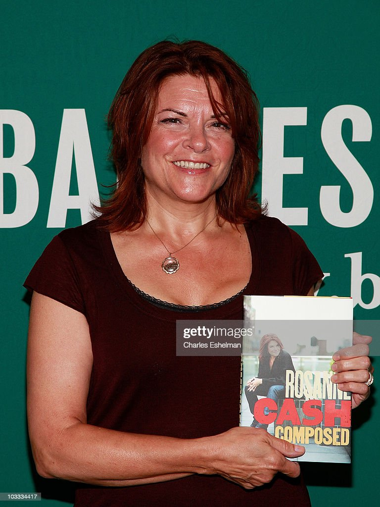 "Rosanne Cash Signs Copies Of ""Composed"" - August 10, 2010"