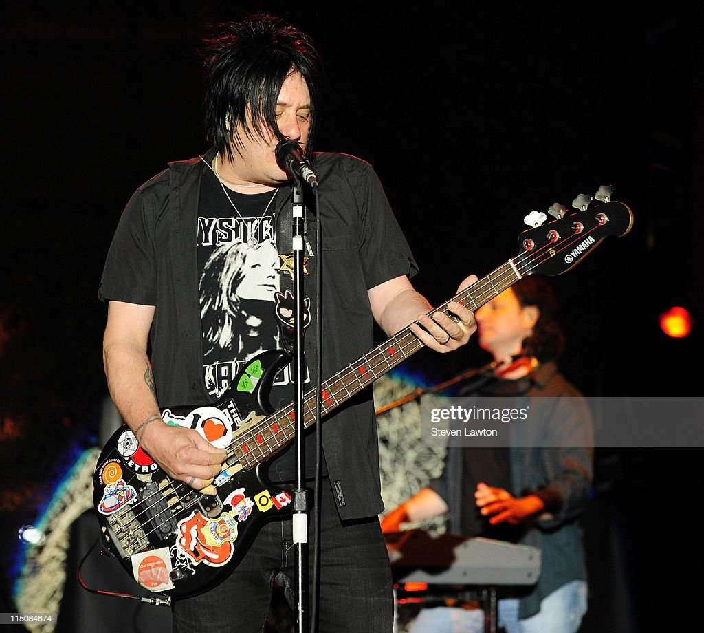 Singer/songwriter/bass guitarist Robby Takac of the Goo Goo Dolls performs at the Couture Las Vegas Jewely Show at Wynn Las Vegas on June 2, 2011 in Las Vegas, Nevada.