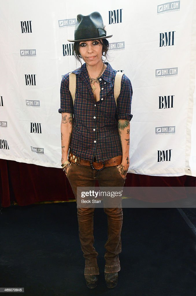 Singer/songwriter/music producer <a gi-track='captionPersonalityLinkClicked' href=/galleries/search?phrase=Linda+Perry&family=editorial&specificpeople=2133172 ng-click='$event.stopPropagation()'>Linda Perry</a> attends BMI Presents Annual 'How I Wrote That Song' Pre-Grammy Event at House of Blues Sunset Strip on January 25, 2014 in West Hollywood, California.