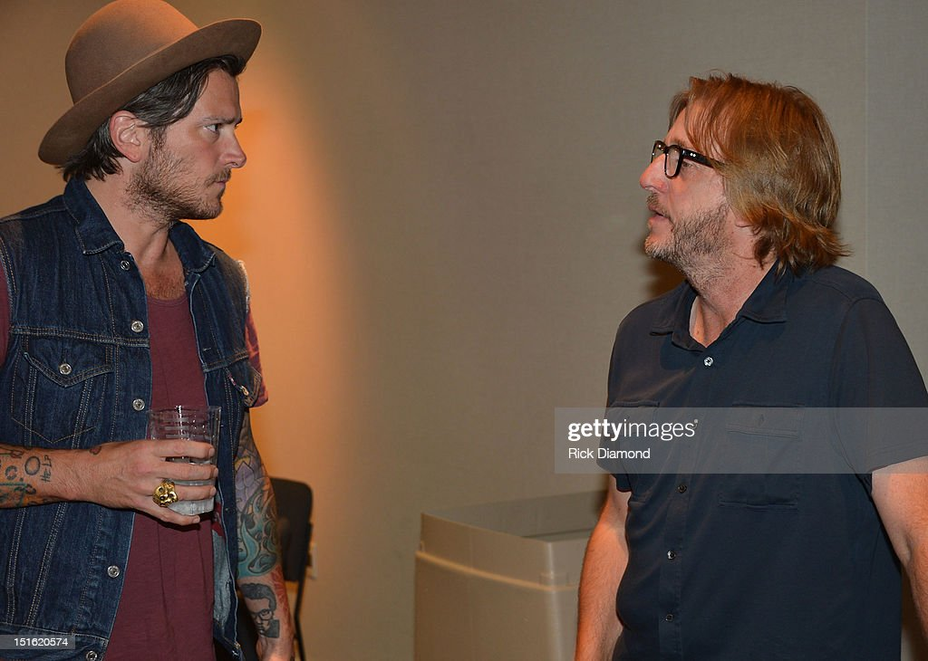 Singer/Songwriter/Producer Butch Walker and Producer Brendan O'Brien during GRAMMY GPS - A Road Map For Today's Music Pro at W Atlanta Buckhead on September 8, 2012 in Atlanta, Georgia.